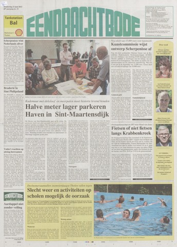 Eendrachtbode (1945-heden)/Mededeelingenblad voor het eiland Tholen (1944/45) 2012-06-21