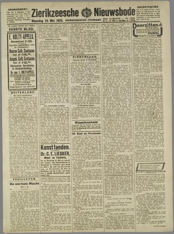 Zierikzeesche Nieuwsbode 1925-05-25