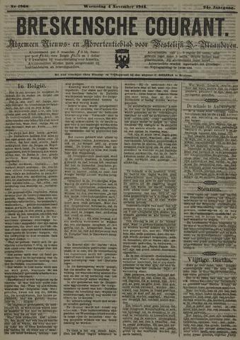 Breskensche Courant 1914-11-04