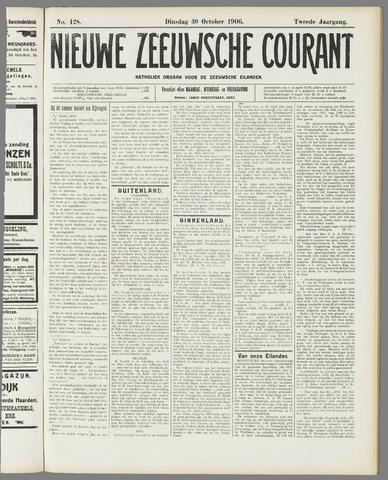 Nieuwe Zeeuwsche Courant 1906-10-30