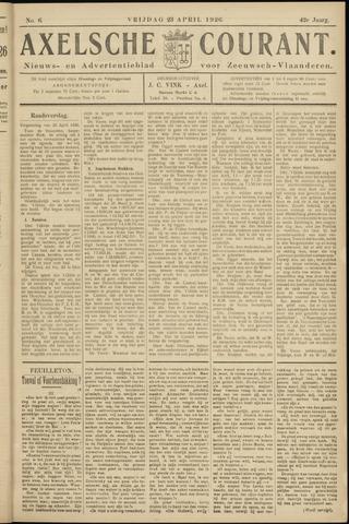 Axelsche Courant 1926-04-23