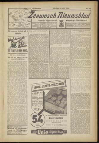 Zeeuwsch Nieuwsblad/Wegeling's Nieuwsblad 1935-05-31
