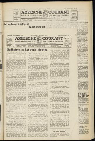 Axelsche Courant 1951-04-18
