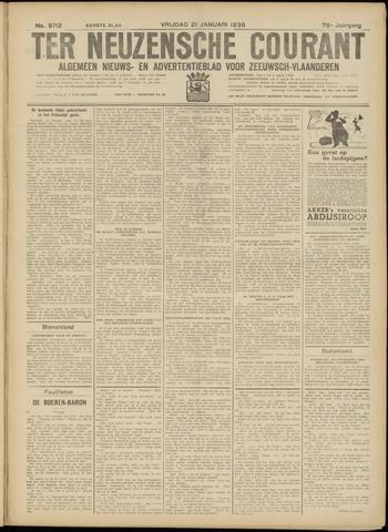 Ter Neuzensche Courant. Algemeen Nieuws- en Advertentieblad voor Zeeuwsch-Vlaanderen / Neuzensche Courant ... (idem) / (Algemeen) nieuws en advertentieblad voor Zeeuwsch-Vlaanderen 1938-01-21