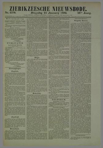 Zierikzeesche Nieuwsbode 1882-01-24