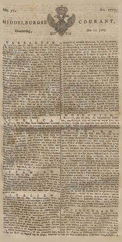 Middelburgsche Courant 1775-06-15