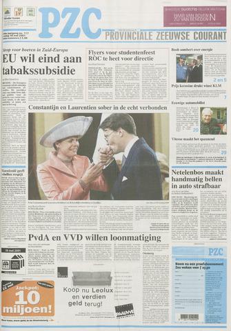 Provinciale Zeeuwse Courant 2001-05-18