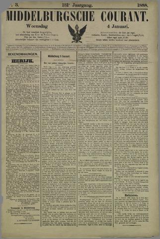 Middelburgsche Courant 1888-01-04