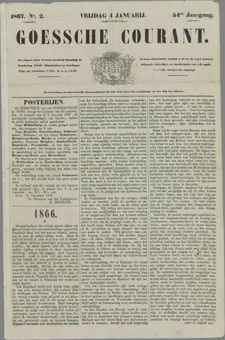 Goessche Courant 1867-01-04