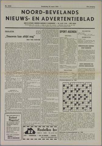 Noord-Bevelands Nieuws- en advertentieblad 1982-03-25