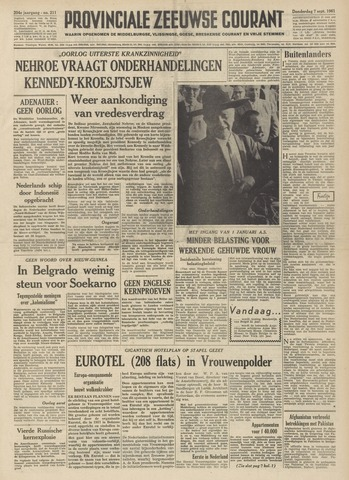 Provinciale Zeeuwse Courant 1961-09-07