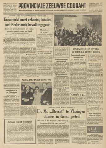 Provinciale Zeeuwse Courant 1957-10-02
