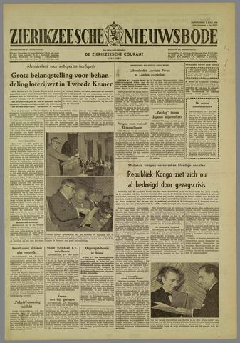 Zierikzeesche Nieuwsbode 1960-07-07