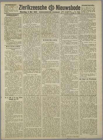 Zierikzeesche Nieuwsbode 1922-05-08