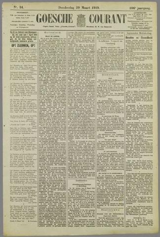 Goessche Courant 1919-03-20