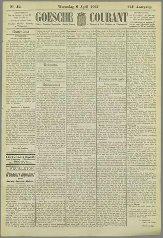Goessche Courant 1927-04-06