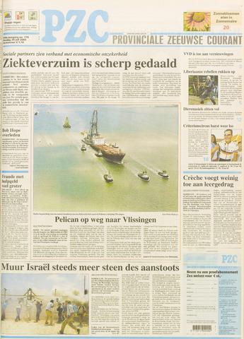 Provinciale Zeeuwse Courant 2003-07-29