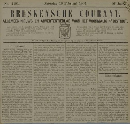 Breskensche Courant 1907-02-16