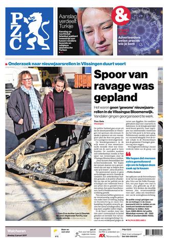 Provinciale Zeeuwse Courant 2017-01-03