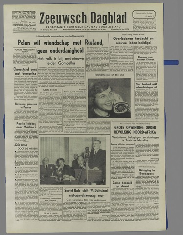 Zeeuwsch Dagblad 1956-10-24