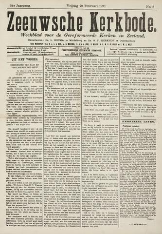 Zeeuwsche kerkbode, weekblad gewijd aan de belangen der gereformeerde kerken/ Zeeuwsch kerkblad 1920-02-20