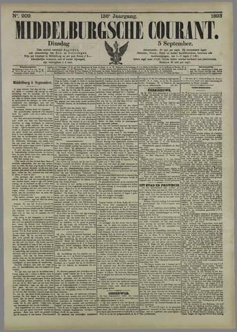 Middelburgsche Courant 1893-09-05