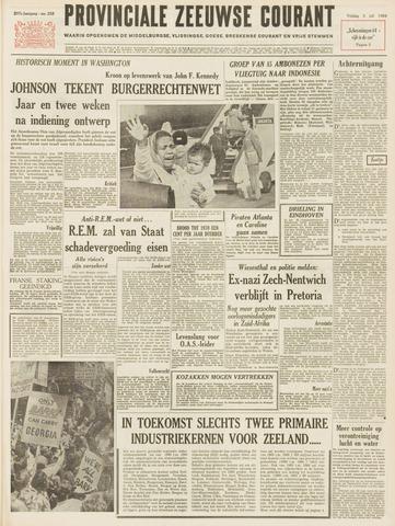 Provinciale Zeeuwse Courant 1964-07-03