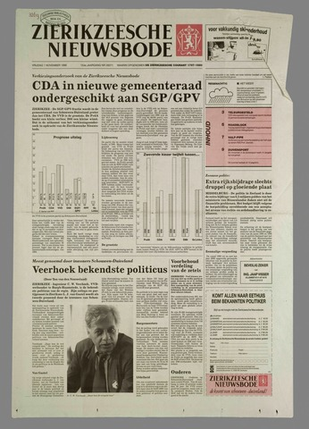 Zierikzeesche Nieuwsbode 1996-11-01