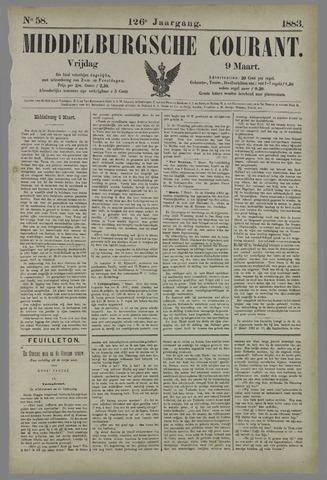 Middelburgsche Courant 1883-03-09