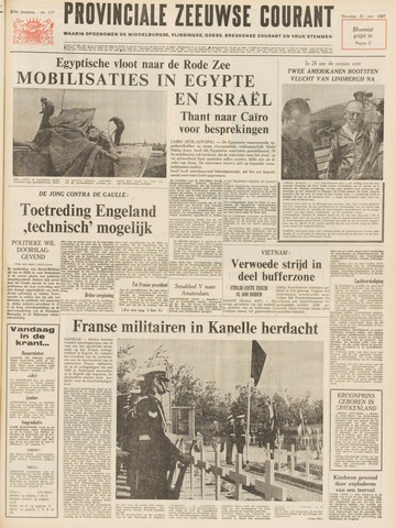 Provinciale Zeeuwse Courant 1967-05-22