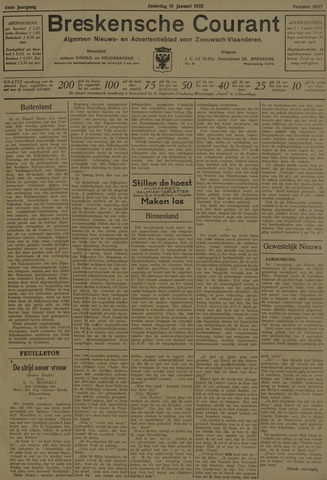 Breskensche Courant 1932-01-16