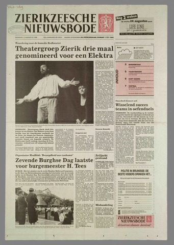 Zierikzeesche Nieuwsbode 1996-08-12