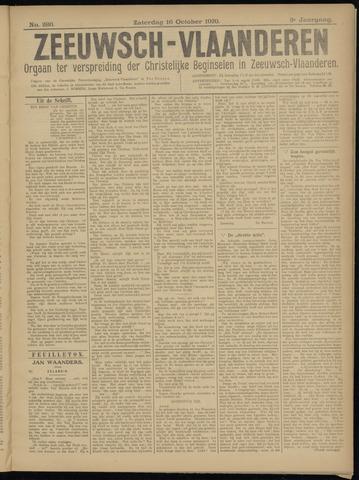 Luctor et Emergo. Antirevolutionair nieuws- en advertentieblad voor Zeeland / Zeeuwsch-Vlaanderen. Orgaan ter verspreiding van de christelijke beginselen in Zeeuwsch-Vlaanderen 1920-10-16