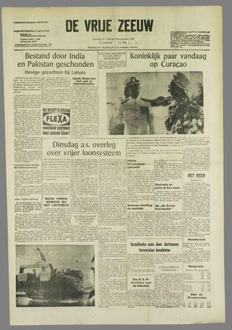 de Vrije Zeeuw 1965-09-27