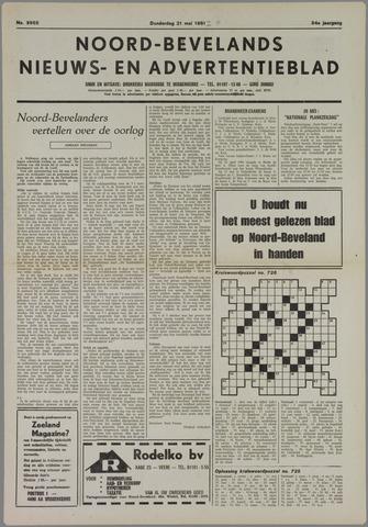 Noord-Bevelands Nieuws- en advertentieblad 1981-05-21