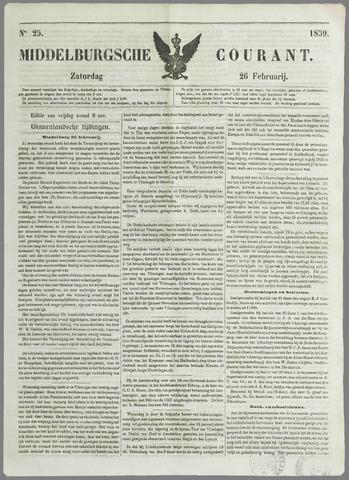 Middelburgsche Courant 1859-02-26