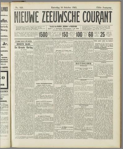 Nieuwe Zeeuwsche Courant 1915-10-16