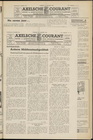 Axelsche Courant 1952-08-27