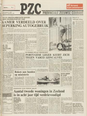 Provinciale Zeeuwse Courant 1975-09-04