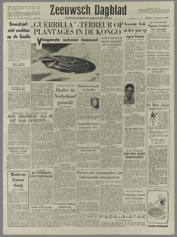 Zeeuwsch Dagblad 1959-11-03