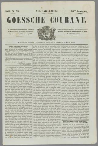 Goessche Courant 1865-07-14