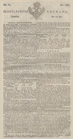 Middelburgsche Courant 1761-07-14