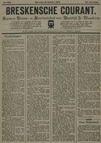 Breskensche Courant 1914-10-10