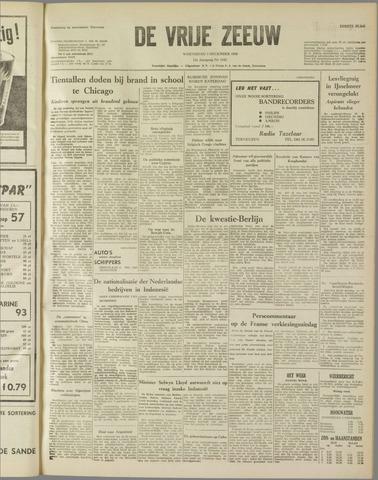 de Vrije Zeeuw 1958-12-03
