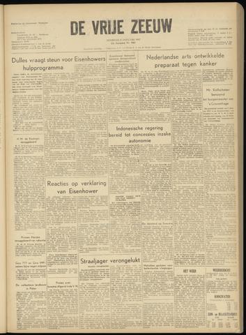 de Vrije Zeeuw 1957-01-08