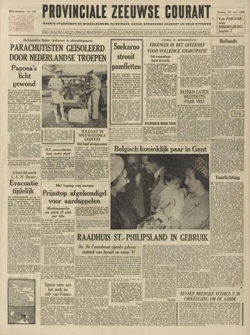 Provinciale Zeeuwse Courant 1962-05-29