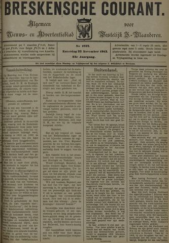 Breskensche Courant 1913-11-22