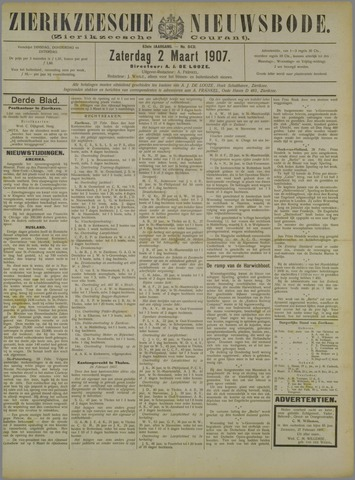 Zierikzeesche Nieuwsbode 1907-03-02