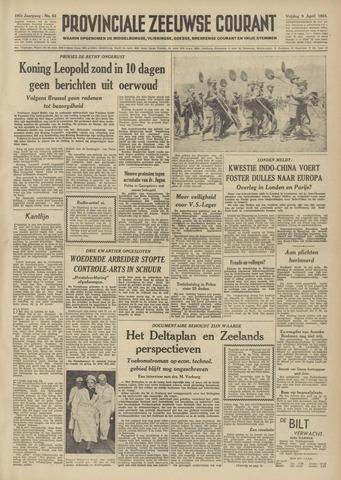 Provinciale Zeeuwse Courant 1954-04-09
