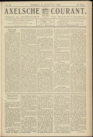 Axelsche Courant 1928-08-14